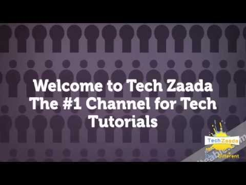 Welcome to my Channel (Tech Zaada)