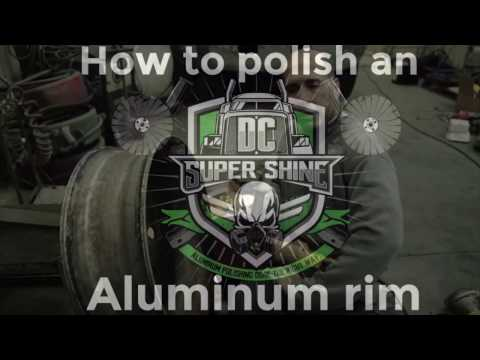How To Polish An Aluminum Rim