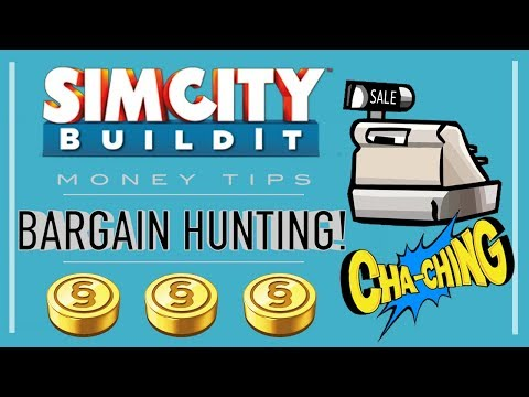 SimCity BuildIt Tips & Tricks: Bargain Hunting!