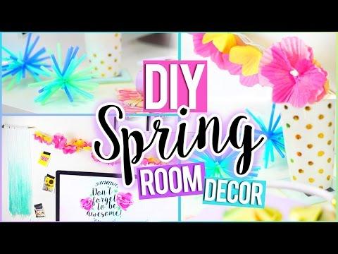 DIY Tumblr SPRING Room Decor Easy Affordable