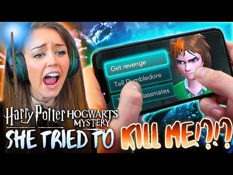 🐍😐SLYTHERIN TRIED TO KILL ME... 😐🐍(Harry Potter Hogwarts Mystery! #2🦉)
