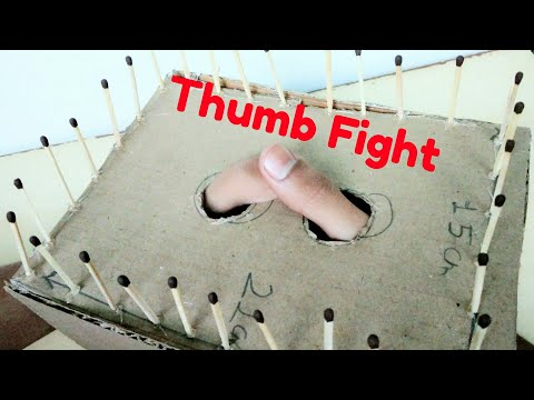 How to Make Thumb Fight Ring