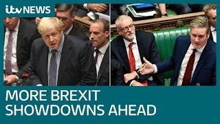 Boris Johnson faces fresh showdowns on Brexit as deadline looms | ITV News