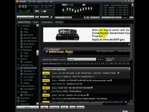 How To Listen To Internet Streaming Radio Stations Using Winamp