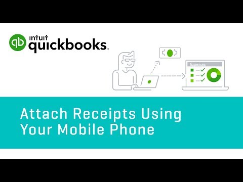 How to Attach Receipts Using Your Mobile Phone   QuickBooks Online Tutorial 2018