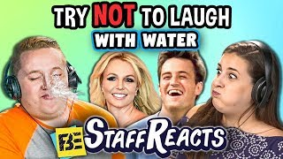 Try To Watch This Without Laughing or Grinning With Water #14 (ft. FBE Staff)