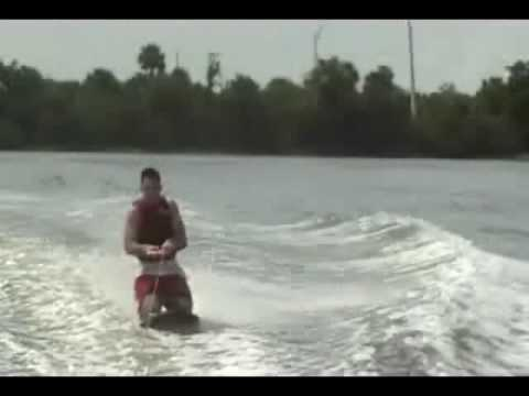 Water Tubing and Knee Boarding Wipeouts
