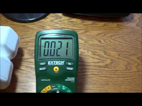Grounding Earthing Measuring Body Voltage - EMF Protection from Electric Fields