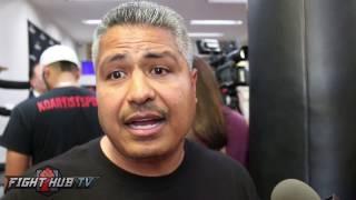 "Robert Garcia ""Canelo beats Gennady Golovkin, the fight happens next year"""