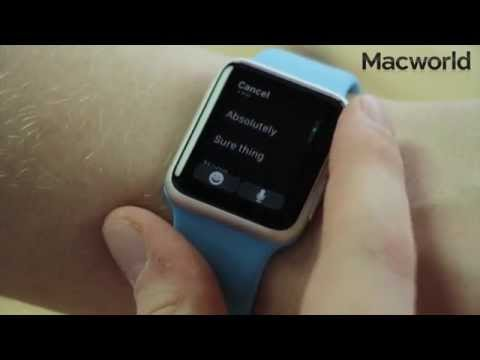 How to send messages on Apple Watch