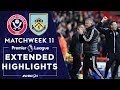 Sheffield United v. Burnley | PREMIER LEAGUE HIGHLIGHTS | 11/02/19 | NBC Sports
