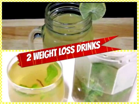 2 Drinks Help You Loss Weight 5 Kg in 1 Month /Quick Weight Loss Drinks Recipes / Fat Cutter Drinks.