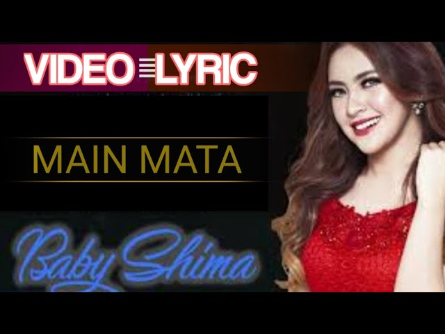 """Baby Shima - Main Mata ("" ""s) #lirik"