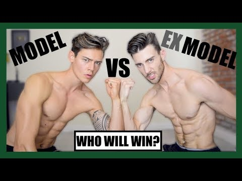MODEL VS. EX-MODEL | HOW TO LOSE WEIGHT & GET IN SHAPE