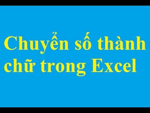 Đổi số thành chữ trong bảng tính Excel - http://taimienphi.vn