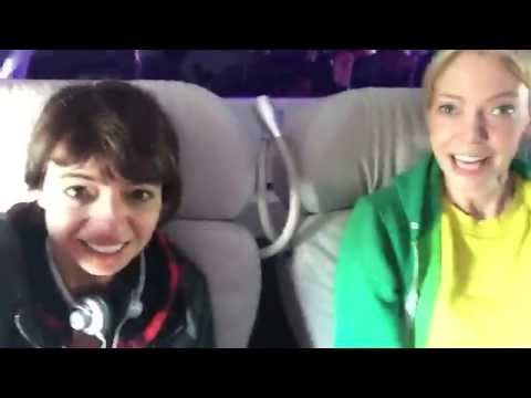 The BEST Flight Attendant Ever!