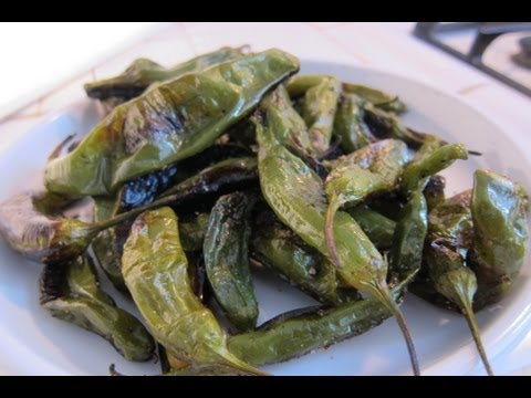 Roasted Shishito Peppers  | A Quick & Easy Snack Recipe