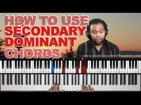 #16: How To Spice Up Your Progressions With Secondary Dominant Chords