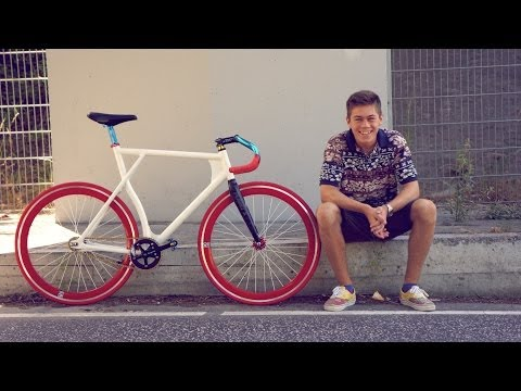 Fixie first ride