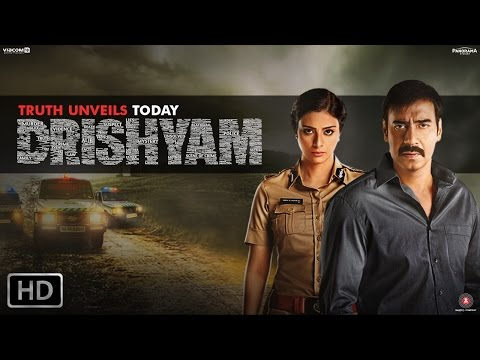 Drishyam - Official Trailer  Starring Ajay Devgn, Tabu  Shriya Saran