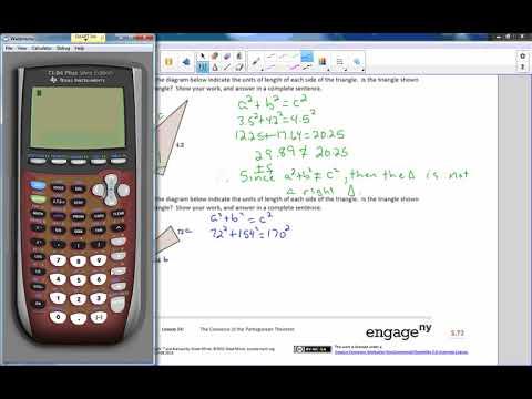 Math 8 Module 3 Lesson 14 Video