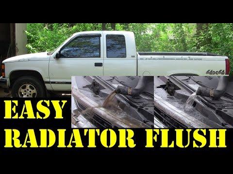 1995 Chevy Truck V8 350 Cooling system Radiator flush
