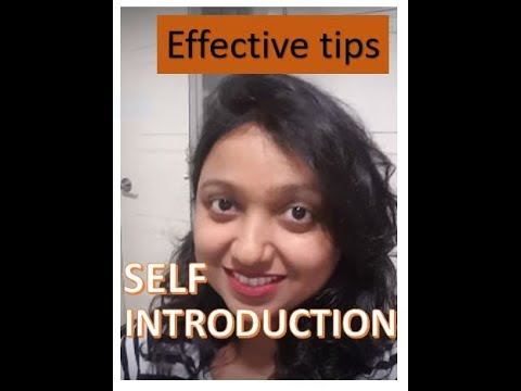 IELTS- Introduce yourself, self introduction in ENGLISH