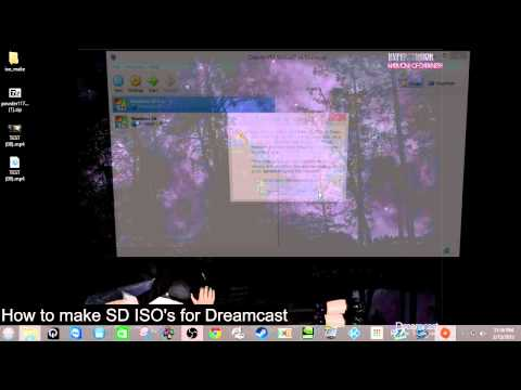 DCerics How to... Make ISOs and CDI files for Dreamcast