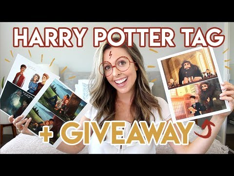 HARRY POTTER TAG + GIVEAWAY