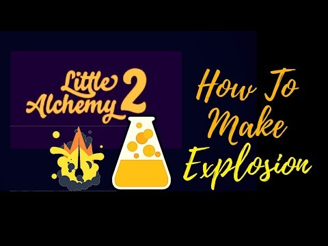 Little Alchemy 2-How To Make Explosion Cheats & Hints
