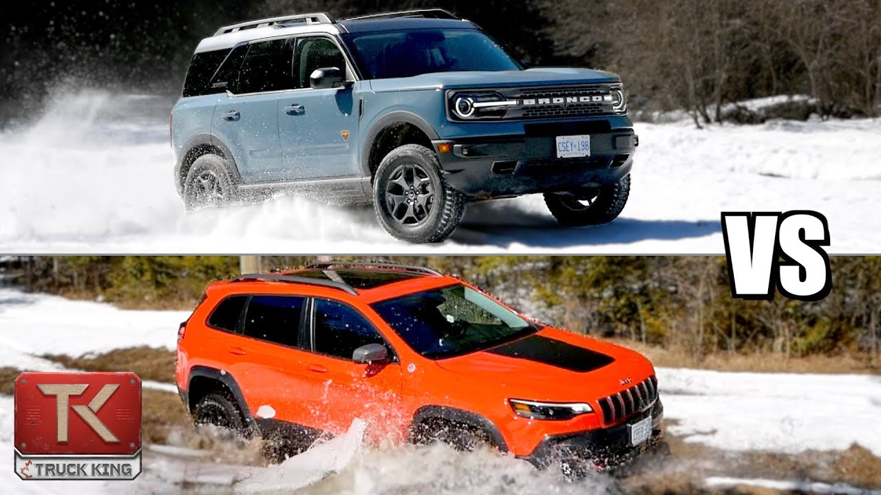 Ford Bronco Sport vs Jeep Cherokee Trailhawk - Finding the Ultimate Off-Road Crossover