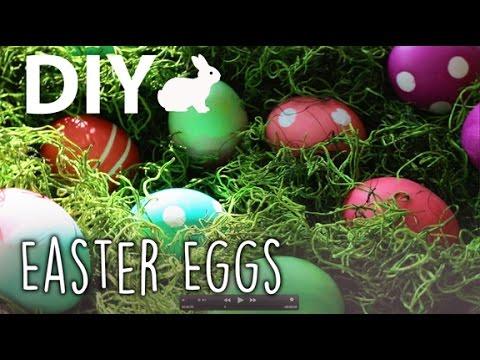 DIY Easter Eggs + Centerpiece | ArtsyPaints