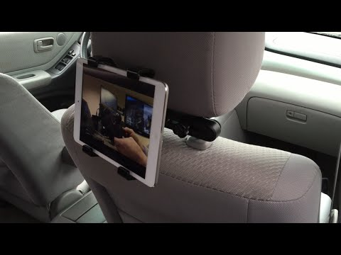 Headrest Mount for iPad by Aduro Review