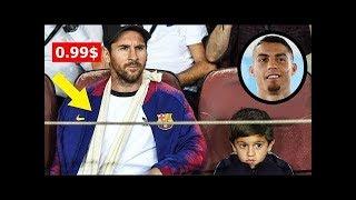 Messi'nin Oğlunun Ronaldo'yu Şok Eden Hareketi ..!! Babasının Ne Yaptığını Görün!
