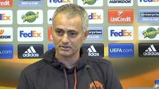 Jose Mourinho Full Pre-Match Press Conference - St-Etienne v Manchester United - Europa League