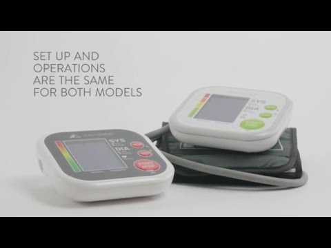 Balance Blood Pressure Monitor 0600, 0602 – Getting Started
