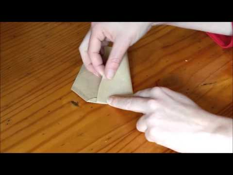 HOW TO: make tea bags / seed bags out of coffee filters for FREE! (DIY tutorial)