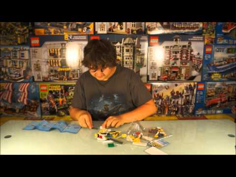Introducing Derick!  LEGO Seaplane 3178 - Build & Review