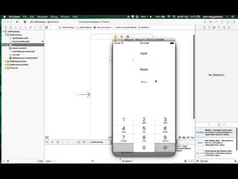 How to Make Simple App with Xcode 7