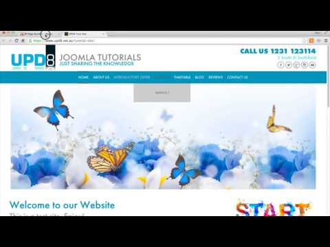New Menu from SP Page Builder in joomla