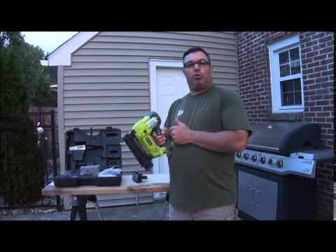 Ryobi P320 Cordless Brad Nailer Review