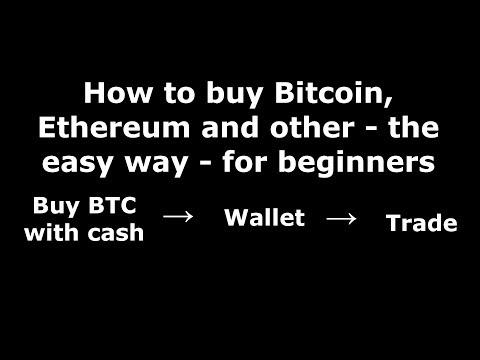 How to buy Bitcoin, Ethereum and other - Simple