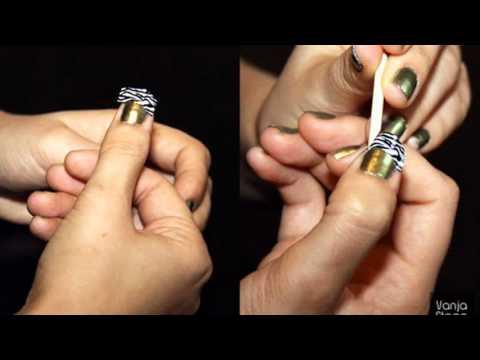 zebra nail tutorial