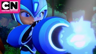Mega Man: Fully Charged | Mega Man vs Wood Man | Cartoon Network