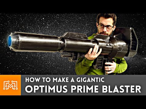 How to make an Optimus Prime Blaster Prop