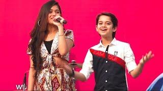 Jannat zubair Live Singing And dancing With Ayaan Zubair Malad Masti Feast