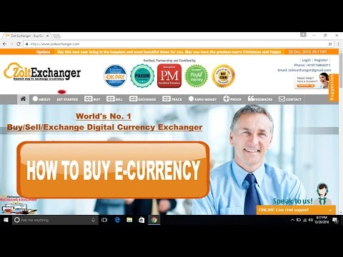 How to buy e-currency like perfect money, skrill, neteller, okpay etc from zolt exchanger