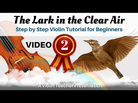 Easy Violin Step by Step Tutorial | The Lark in the Clear Air, Pt 2 | How to Play FAST