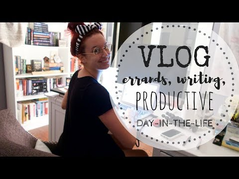 VLOG | Errands, Writing, Reading & Productivity For The Win!
