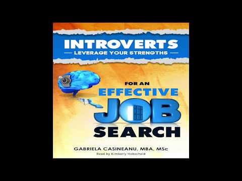 (audiobook) Introverts: Leverage Your Strengths for an Effective Job Seach